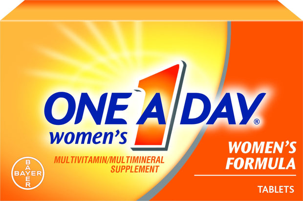 One-A-Day Women's Multivitamin/Multimineral Tablets 100 ct