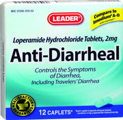 LEADER Anti-Diarrheal 2mg Caplets