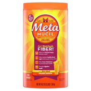 Metamucil Fiber Laxative Powder Smooth Orange