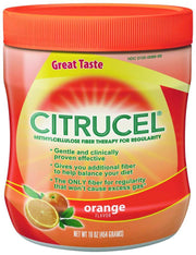 Citrucel Fiber Supplement Orange Powder