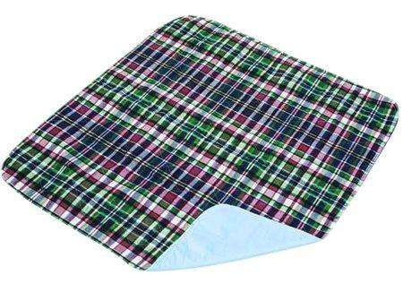 Essential Medical Quik-Sorb Reusable Underpad Plaid 34 in. x 36 in.