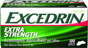 Excedrin Extra Strength Acetaminophen & Caffeine Pain Reliever Caplets