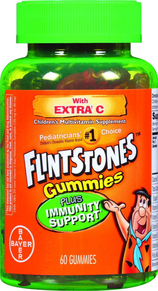 Flintstones Children's Multivitamins Plus Immunity Gummies 70 ct