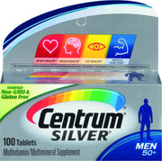 Centrum Silver Men 50+ Multivitamin/Multimineral Tablets