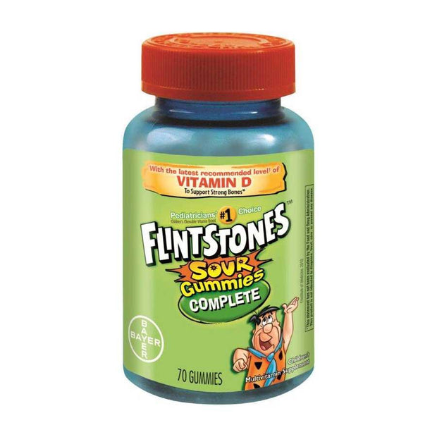 Flintstones Children's Multivitamins Complete Sour Gummies 70 ct
