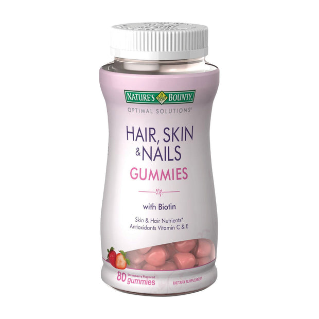 Nature's Bounty Hair Skin & Nails Gummies 80 ct