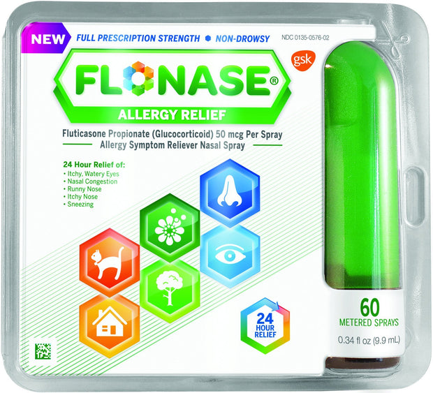 Flonase Allergy Relief 50mcg Nasal Spray