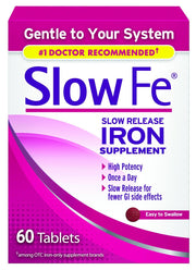 Slow FE Slow Release Iron Supplement 45mg Tablets