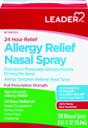 LEADER 24 Hour Allergy Relief Nasal Spray 0.54 oz