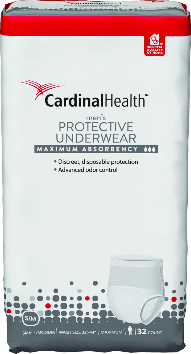 Cardinal Health Women's Protective Underwear Max Absorbency Small/Medium