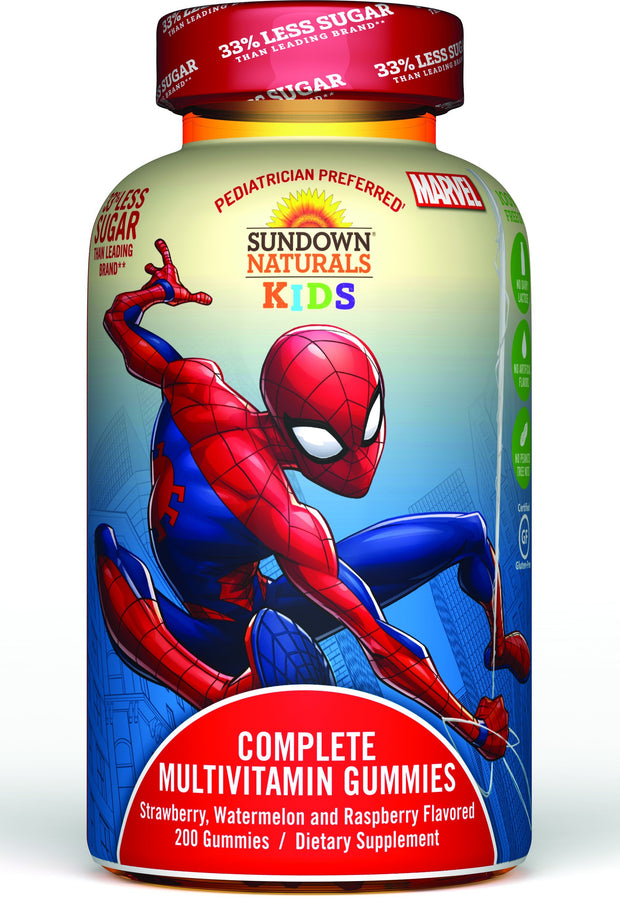 Sundown Naturals Kids Complete Multivitamin Gummies Marvel 60 ct