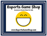 """Esports Game Shop"" Ecommerce Domain EsportsGameShop.com"