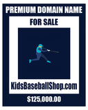 """Kids Baseball Shop"" Ecommerce Domain KidsBaseballShop.com"
