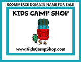 """Kids Camp Shop"" Ecommerce Domain KidsCampShop.com"