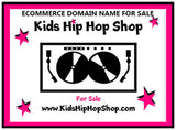 """Kids Hip Hop Shop"" Domain Name KidsHipHopShop.com"