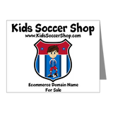 KIDS SOCCER SHOP DOMAIN NAME FOR SALE KIDSSOCCERSHOP.COM