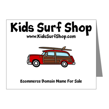 KIDS SURF SHOP DOMAIN NAME FOR SALE KIDSSURFSHOP.COM