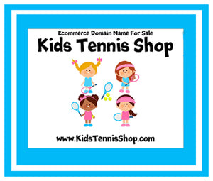 """Kids Tennis Shop"" Ecommerce Domain KidsTennisShop.com"