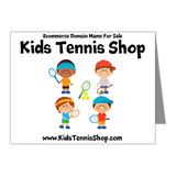 KIDS TENNIS SHOP DOMAIN NAME FOR SALE KIDSTENNISSHOP.COM