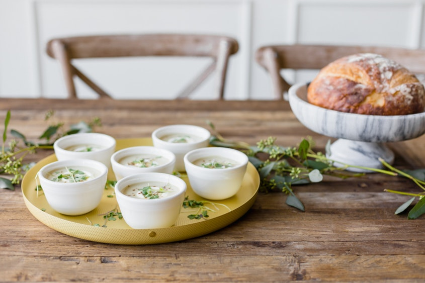 Recipe: Creamy Celery Appetizer Soup with Colleen