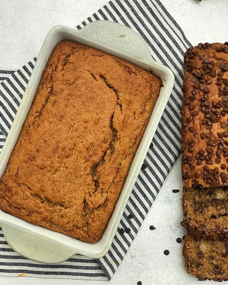 Recipe: CHOCOLATE CHIP BANANA BREAD with Claire