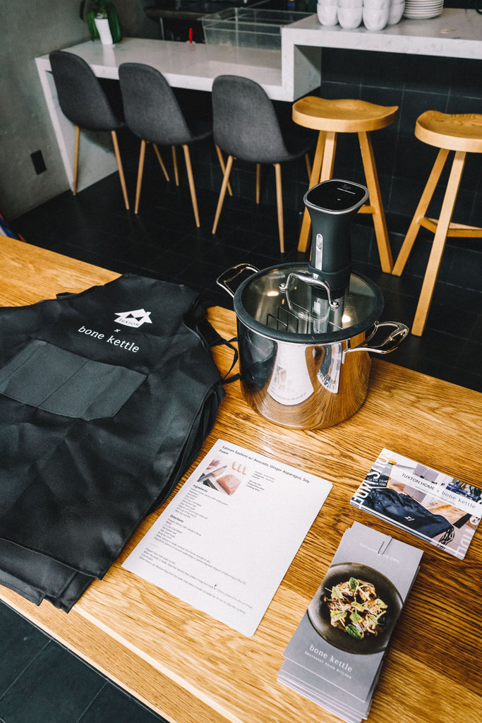 Event: Sous Vide Salmon & Asparagus Class with Bone Kettle