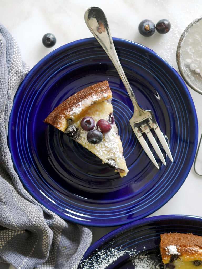 Recipe: Blueberry-Orange Ricotta Cheese Cake with Manuela
