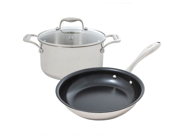 Tuxton Home Cookware - Concentrix Essentials Set 3pc (Black)