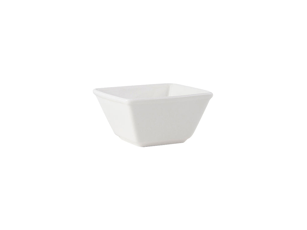 Napa Square Bowl 8oz - Pearl White (Pack of 24)