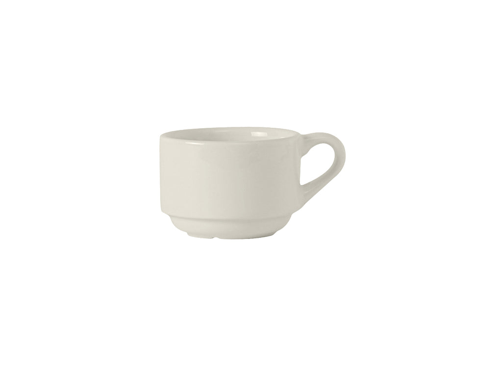 Modena Stackable Cup 7oz - Pearl White (Pack of 36)