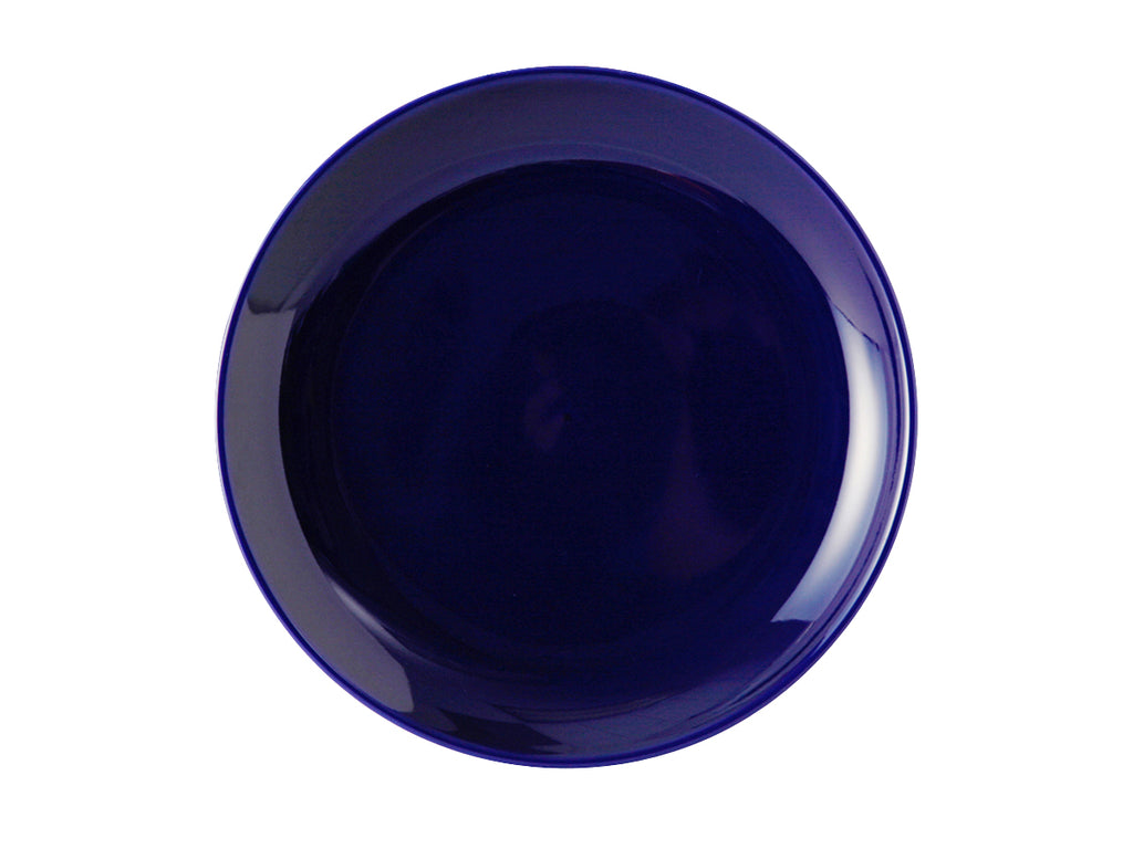 "TuxCare Healthcare Plate 9"" - Cobalt Blue Coupe (Pack of 12)"