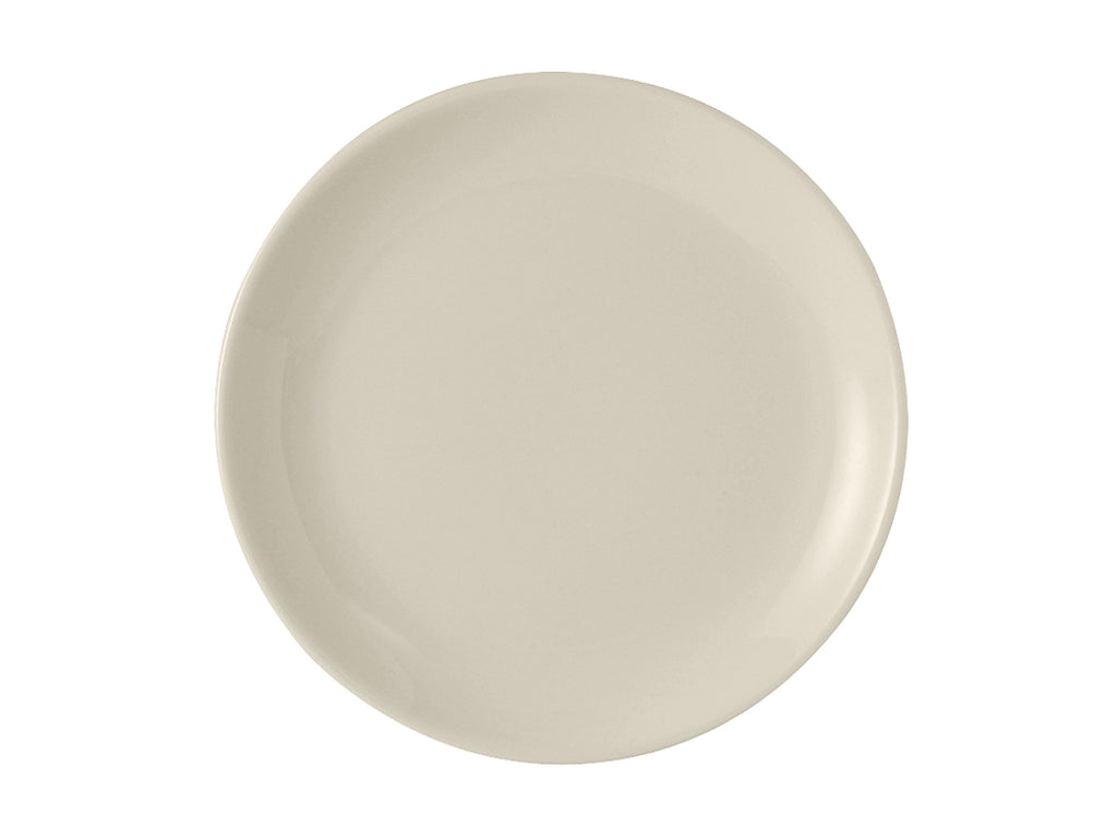 "TuxCare Healthcare Plate 9"" - Eggshell White Coupe (Pack of 12)"