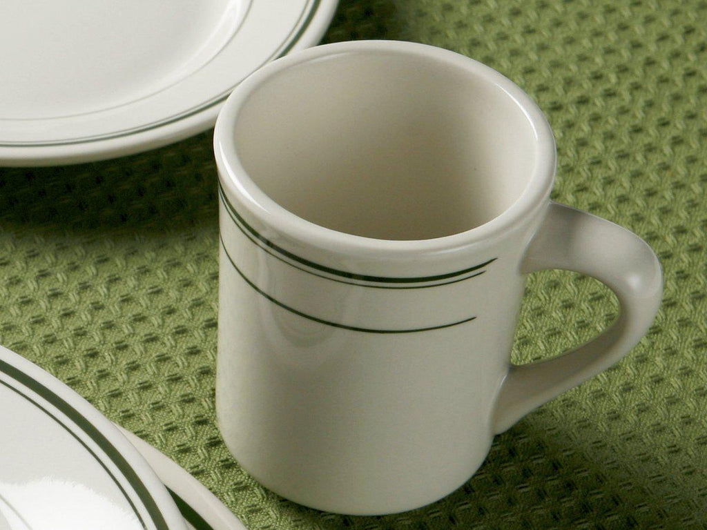 Green Bay Striped Mug 9oz - Set of 12 *SAMPLE SALE*