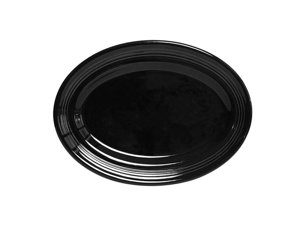 "Concentrix Oval Platter 9-3/4"" - Set of 12 *SAMPLE SALE*"
