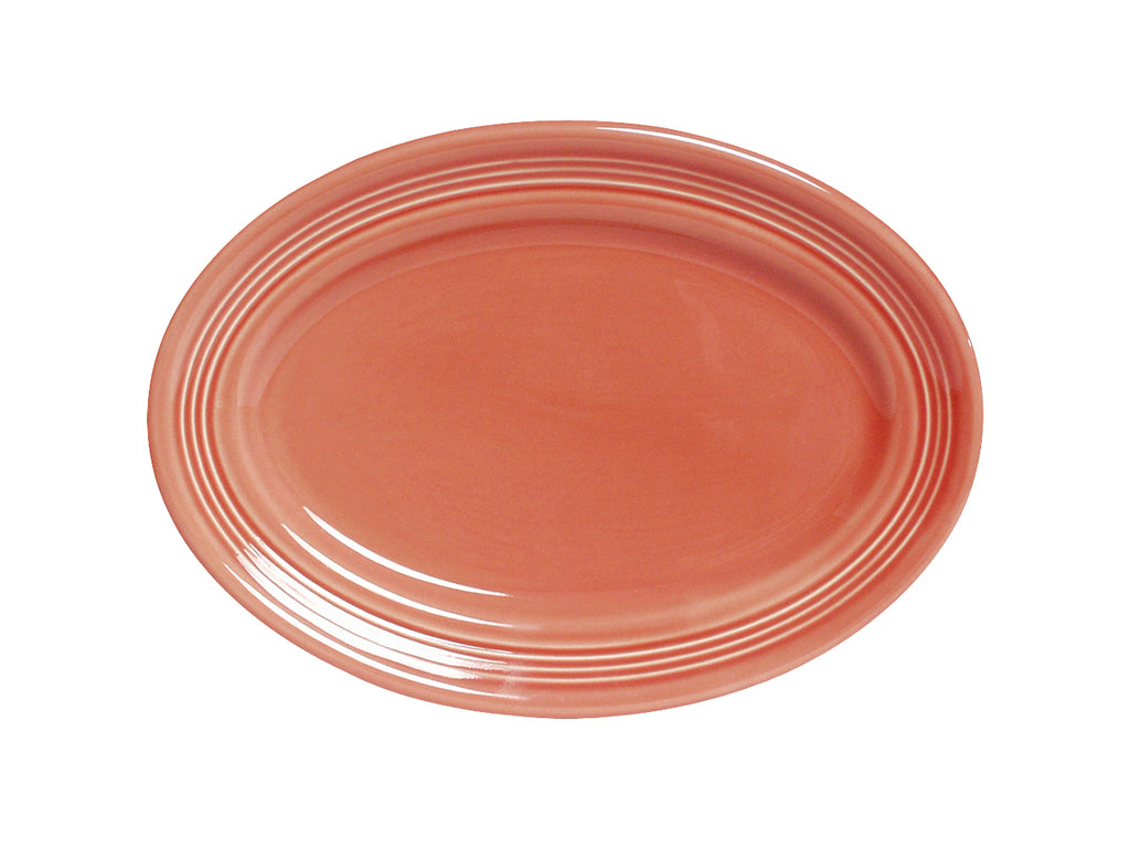 "Concentrix Oval Platter 11-1/2"" - Set of 4 *SAMPLE SALE: see special terms in description*"