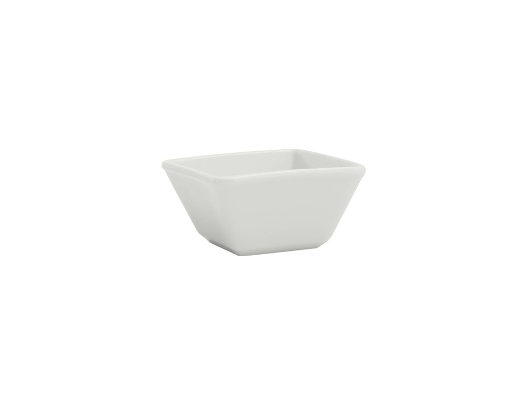 Santorini Square Bowl 8oz - Porcelain White (Pack of 24)