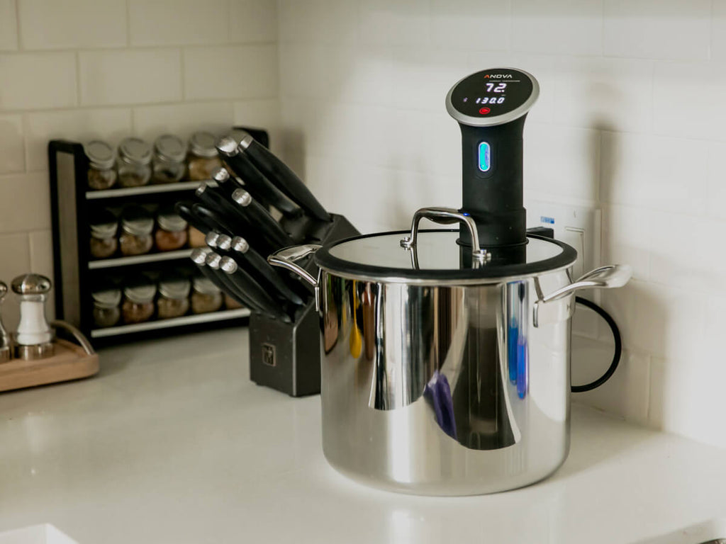 Chef Series Sous Vide Stockpot 9.8qt (Limited Edition Launch Special w. Rack)