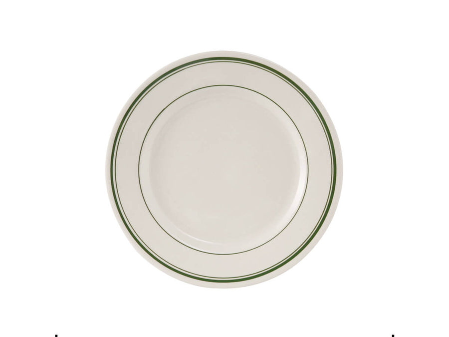 "Green Bay Striped Salad Plate 7"" - Set of 4"