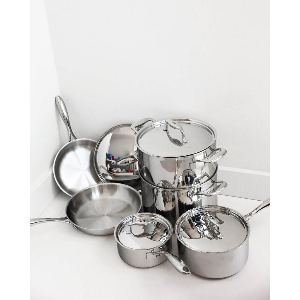 Duratux Tri-Ply Cookware Bundle
