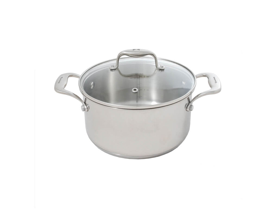Tuxton Home Cookware - Concentrix Covered Casserole 3qt