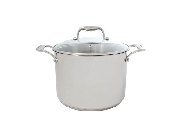 Tuxton Home Cookware - Concentrix Covered Stockpot 8qt