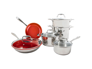 Tuxton Home Cookware - Concentrix Housewarming Set 10pc