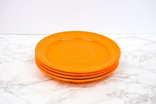 "Concentrix Round Dinner Plate 10.5"" - Set of 4"