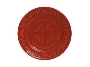 "Tuxton Home Dinnerware - Concentrix Round Dinner Plate 10"" - Set of 4"