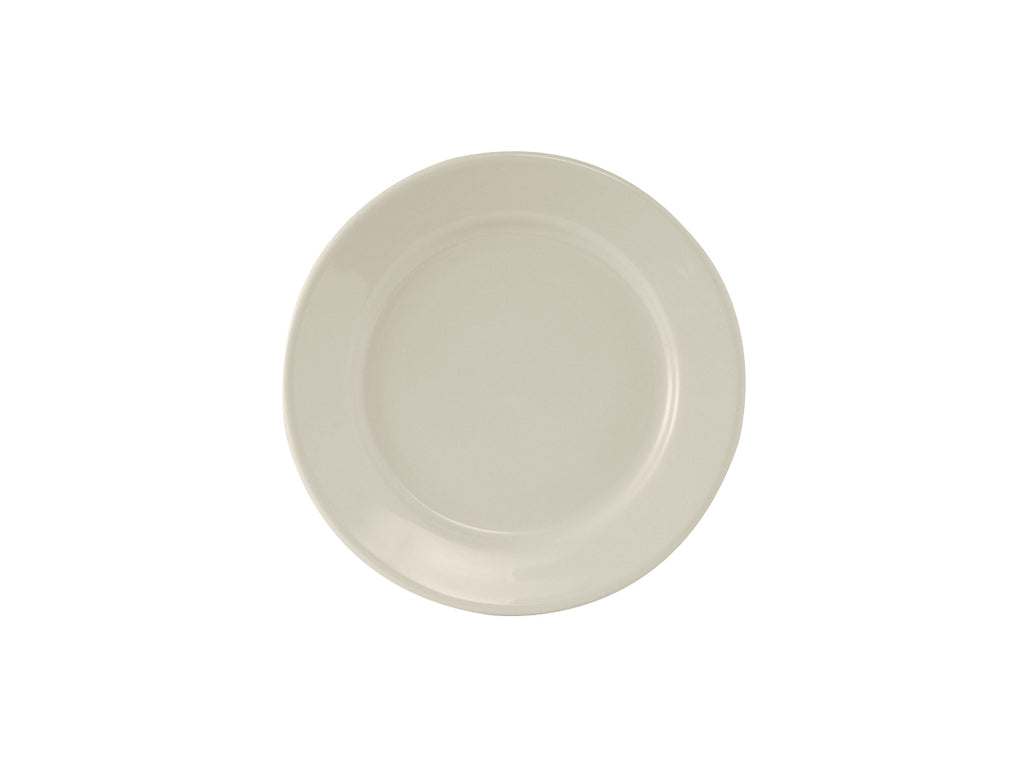 "Reno Plate 5-1/2"" - Eggshell White Re (Pack of 36)"