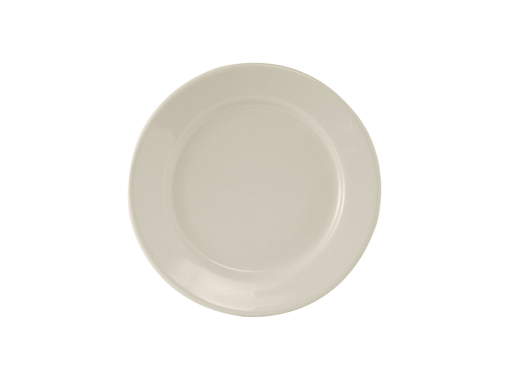 "Reno Plate 6-5/8"" - Eggshell White Re (Pack of 36)"