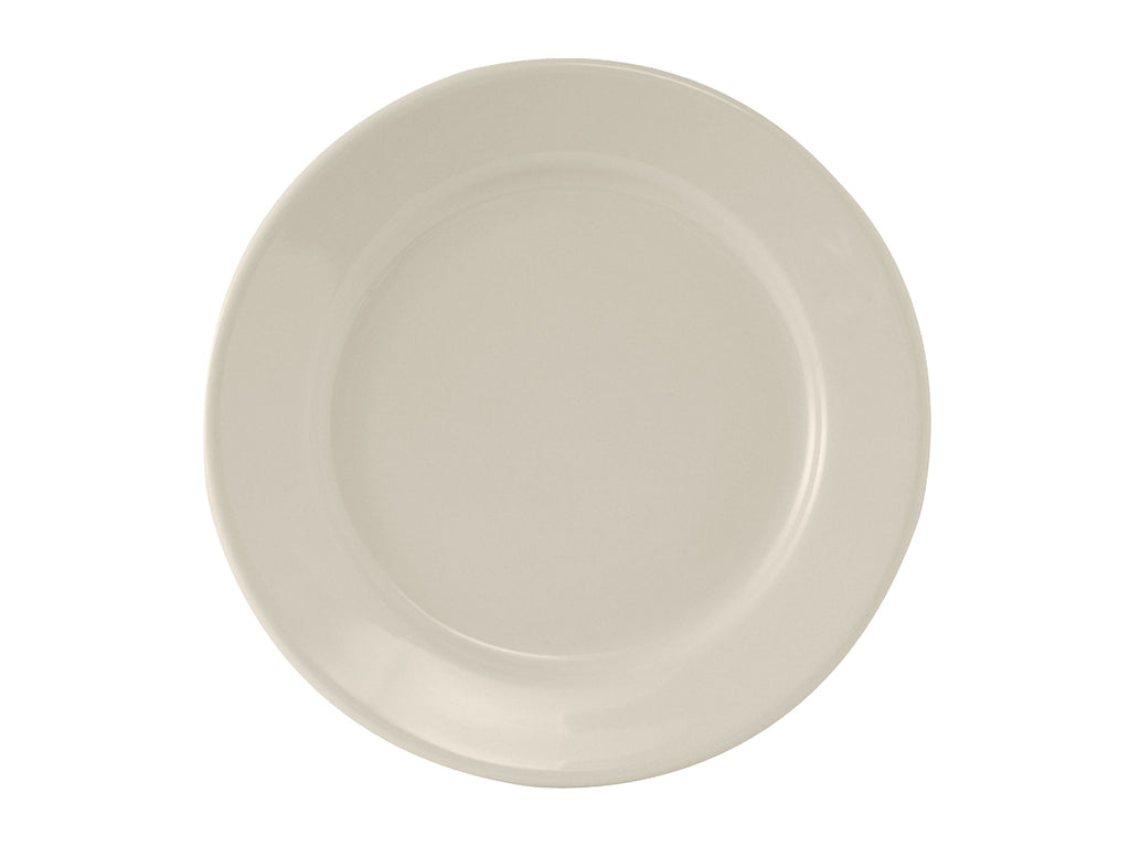 "Reno Plate 9-5/8"" - Eggshell White Re (Pack of 24)"