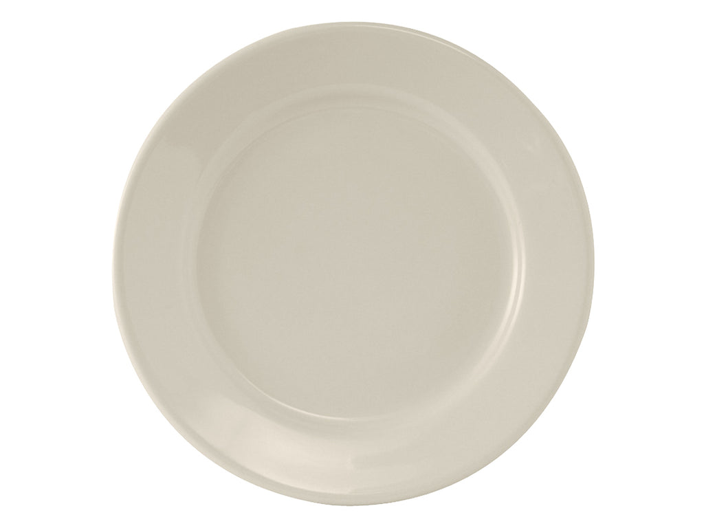 "Reno Plate 10-1/2"" - Eggshell White Re (Pack of 12)"