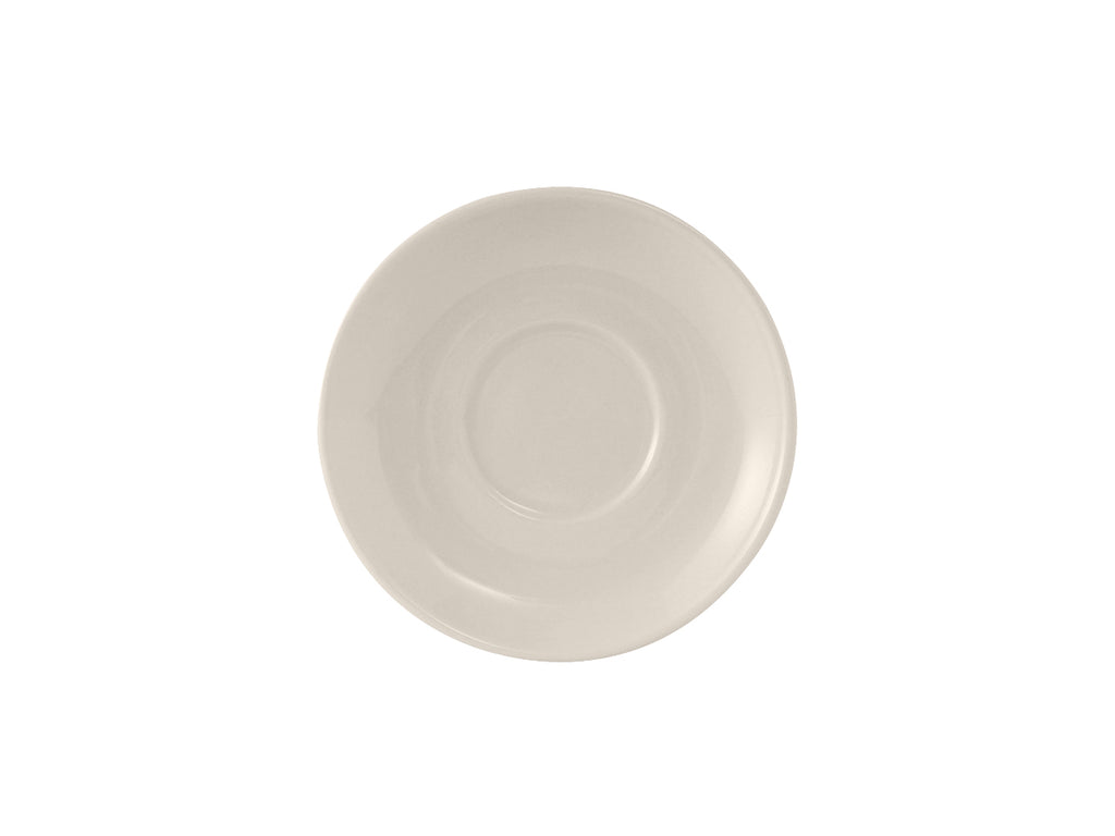 "Reno/Nevada Espresso Saucer 5"" - Eggshell White Re (Pack of 36)"