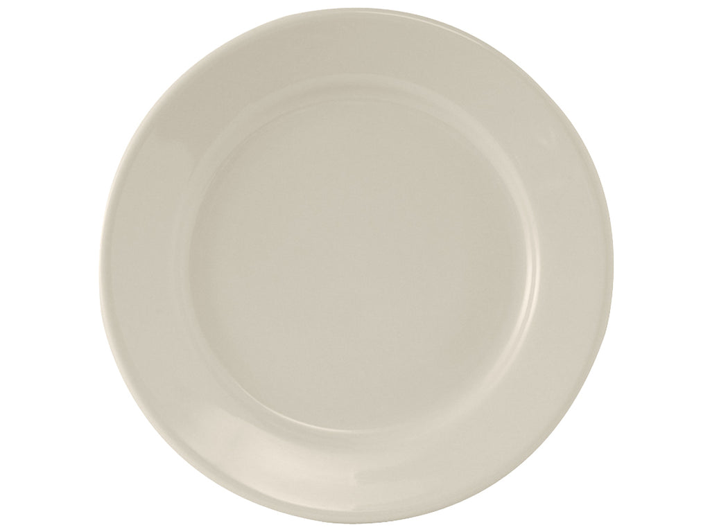 "Reno Plate 13-1/8"" - Eggshell White Re (Pack of 6)"